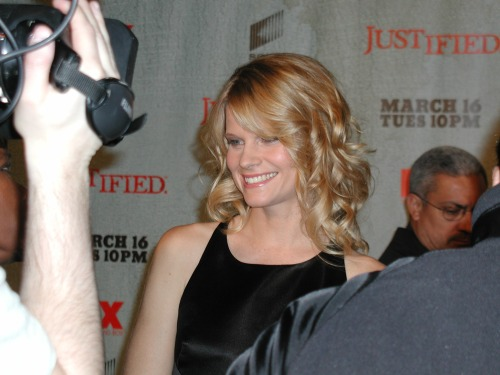 Joelle Carter, FX Justified premiere