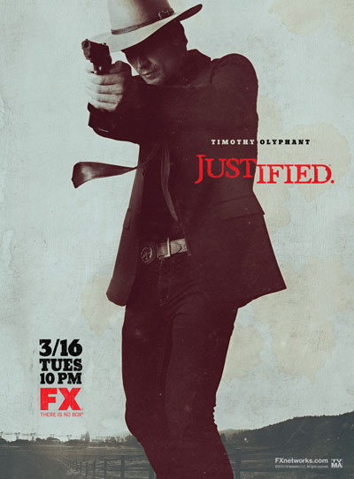 Justified on FX official poster one-sheet